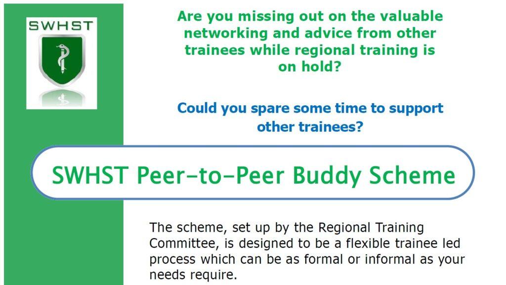 SWHST Peer-to-Peer Buddy Scheme